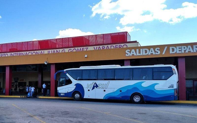 Viazul Bus at Varadero Airport (Cuba 2018)